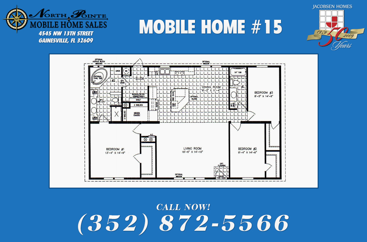 mobile home 15 - 6 Bedroom Mobile Homes