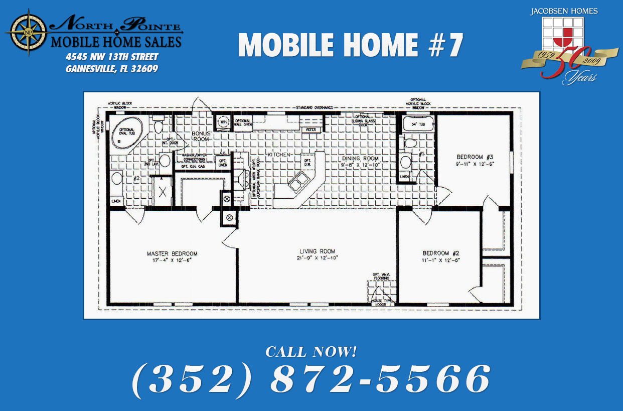 Mobile Home Floor Plans - North Pointe Mobile Home Sales